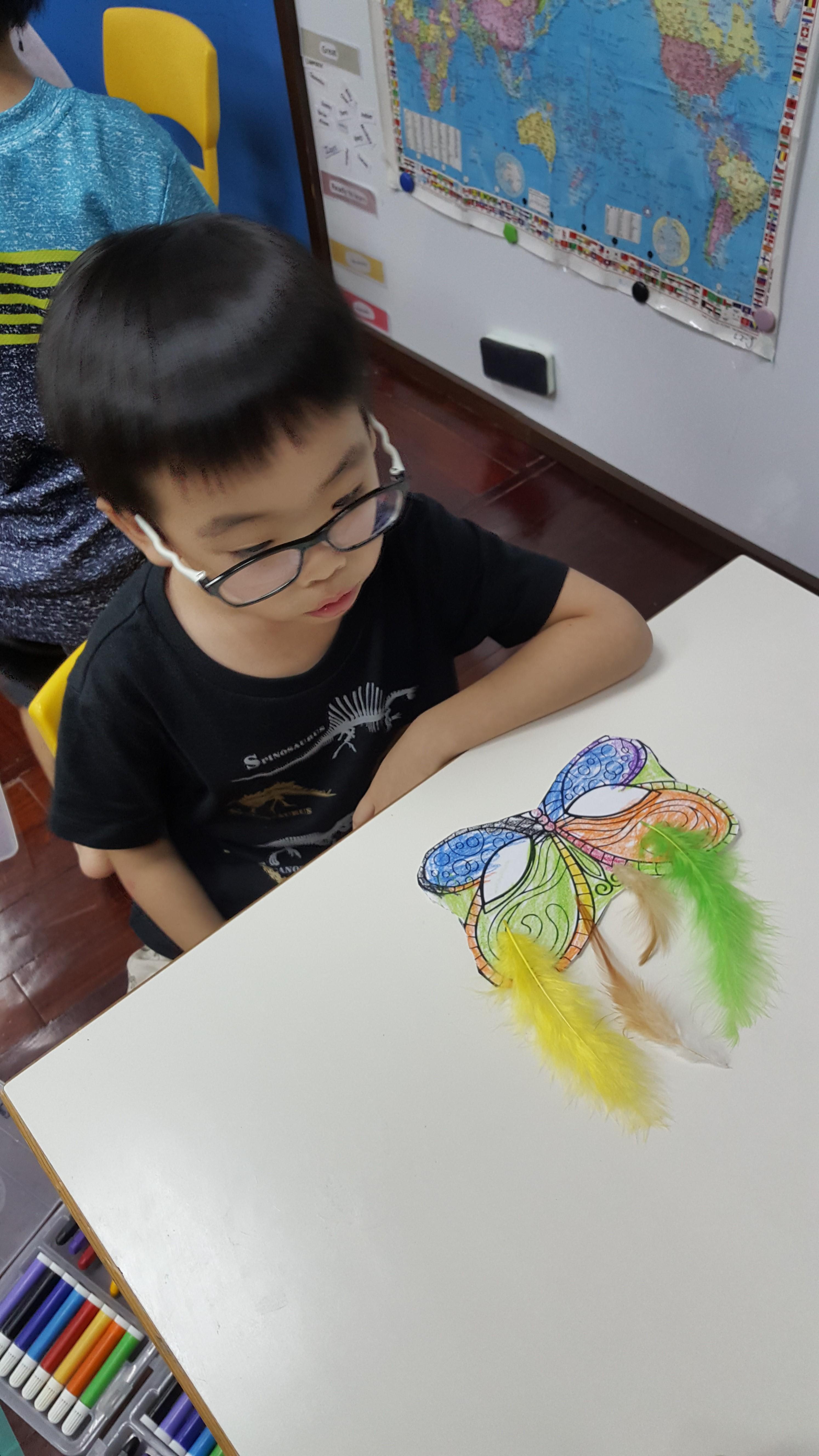Art-製作嘉年華面具嚕 (2)