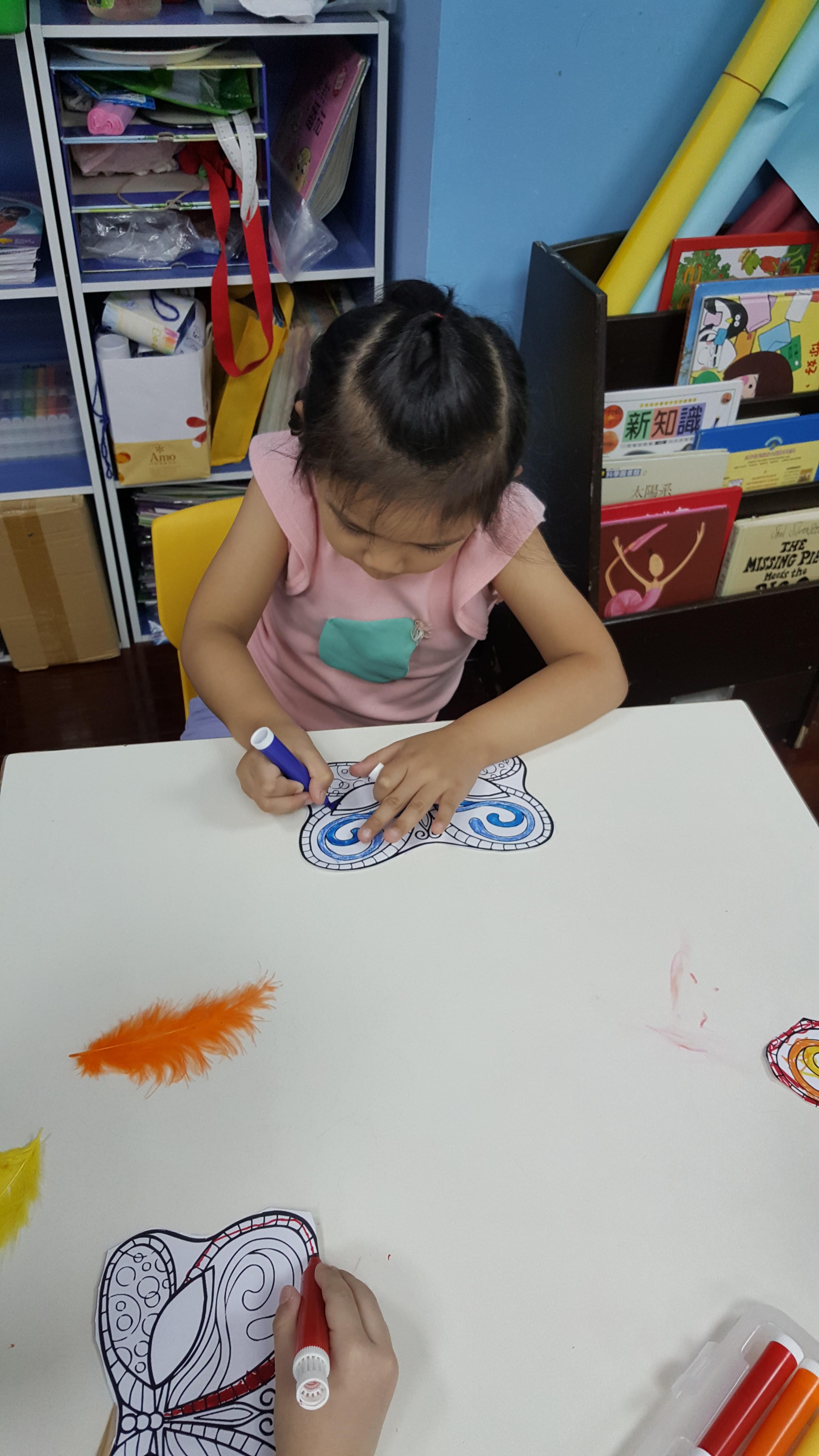 Art-製作嘉年華面具嚕 (5)