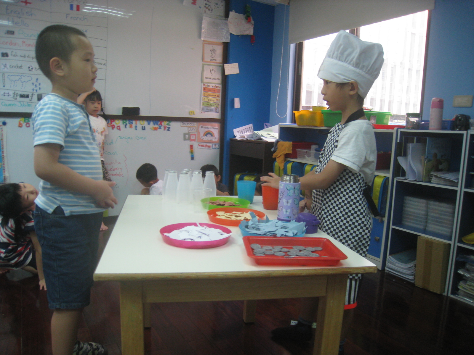 Role play- Tea shop- (3)