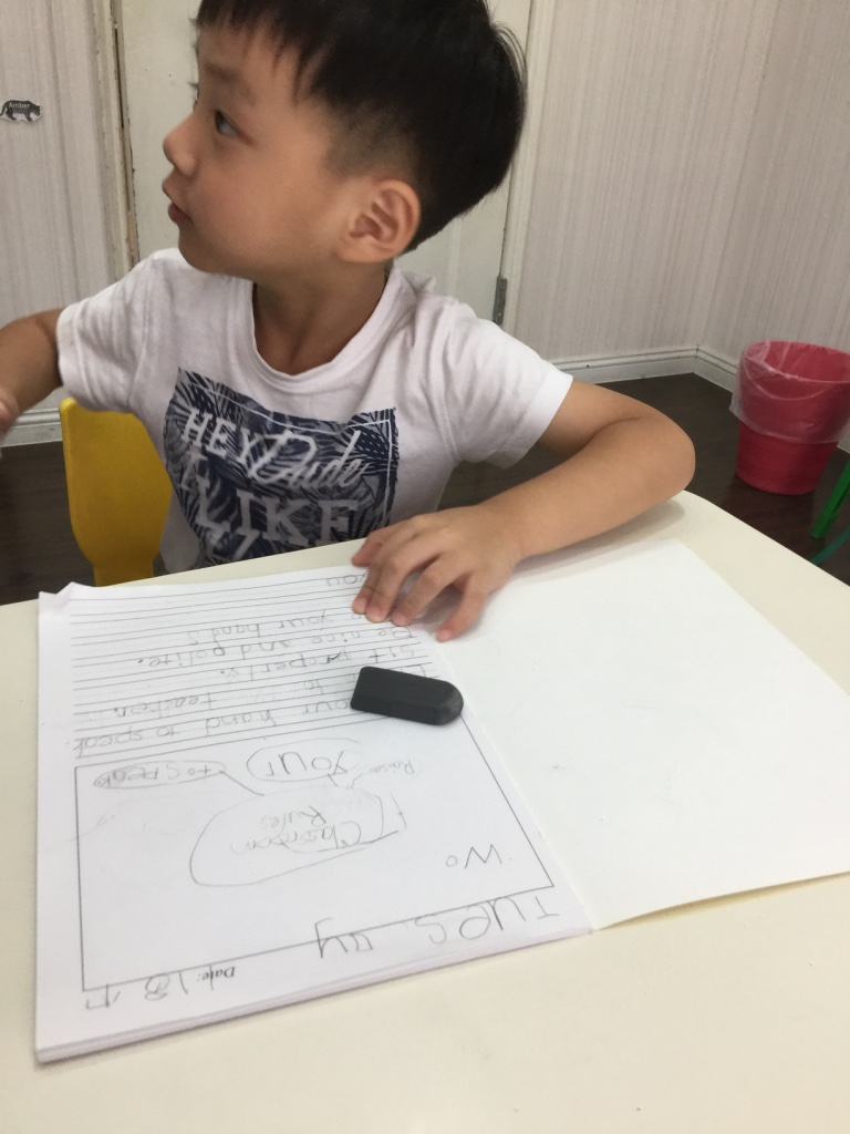 Writing Harrion
