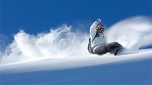 winter sport-Snowboarding