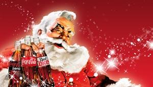 coca-cola Santa