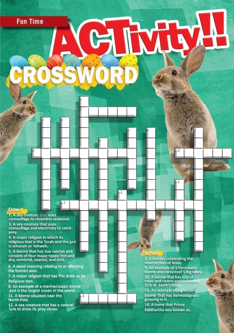 English cross-word