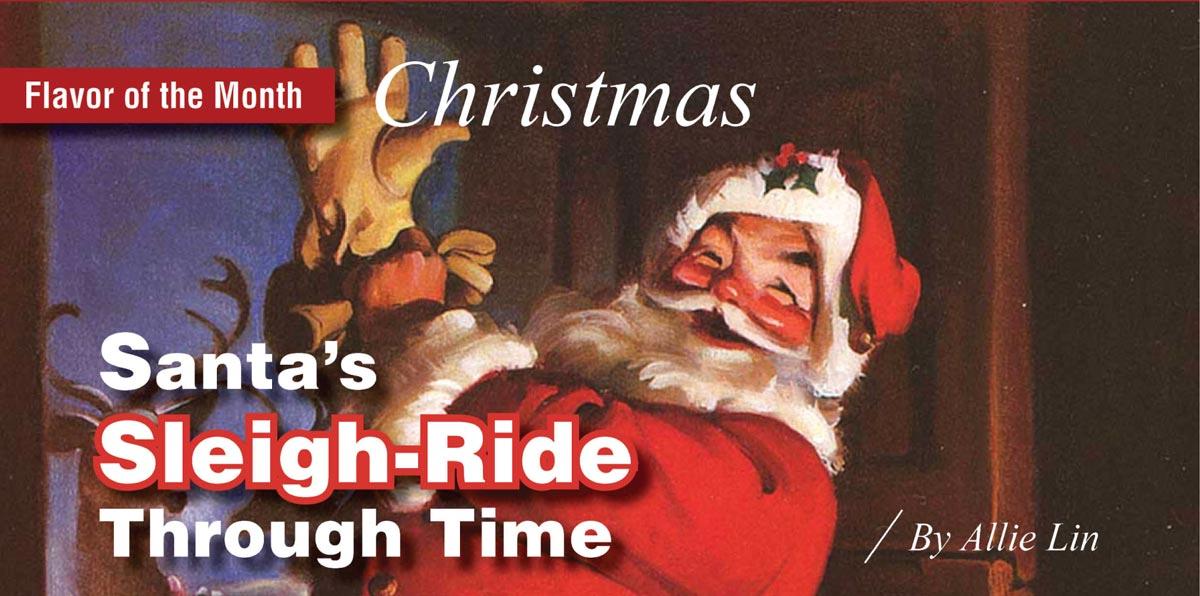Santa's Sleigh-Ride Through Time