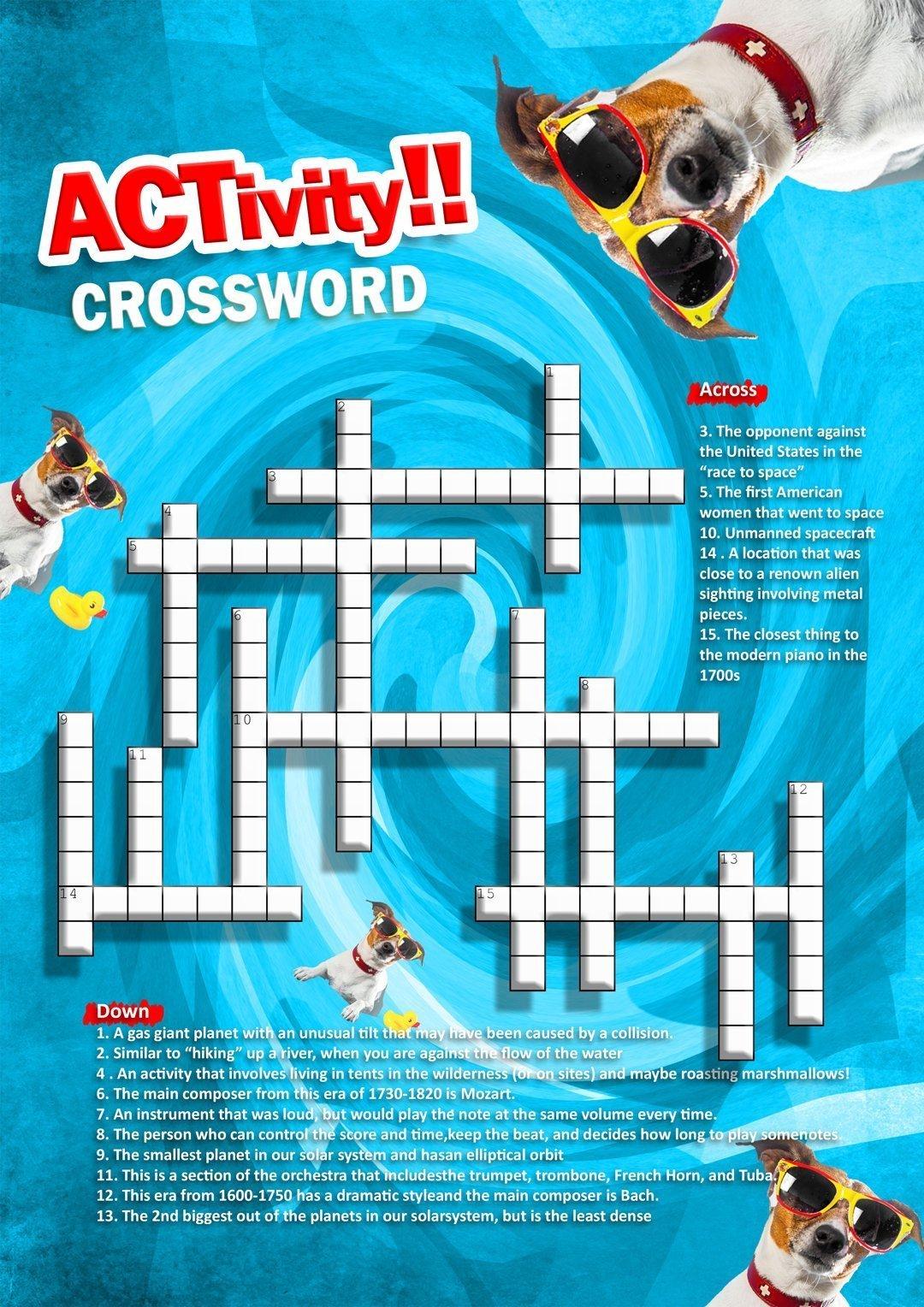 Activity-Crosswords